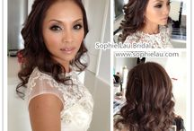 Asian Bridal Ideas / Hair and Makeup Ideas for the Asian Bride :)