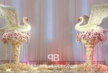 floral sculptures