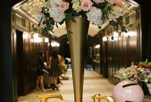Wedding photo table