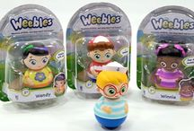 Weebles / We've brought Weebles toys back! They're now beginning to appear at your local retailers!
