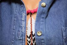 feather necklace inspiration