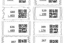 QR kódy / Myšlenkové mapy