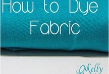 Tutorials & info - Dying Fabric