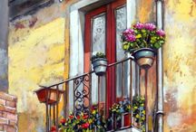 Arches, Balconies, Courtyards