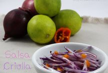 Salsa criolla peruana / Receta de salsa criolla peruana