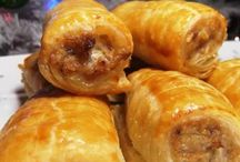 pies and sausage rolls