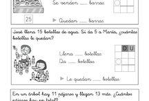 Matemáticas 1º primaria