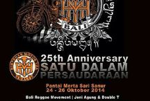 25th ANNIVERSARY HMT BALI 24/25/26 october 2014 / Classic Bike Exhibition, food court, community Gathering, Satu Dalam Persaudaraan, Band Perfomance, clothing Counter, Photo Contest and many more festival program on the event..