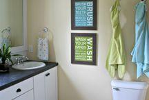 Kids bathroom makeover / DIY