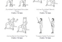 Chest, Shoulder, Triceps Workouts