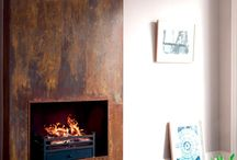 fireplace / open haard