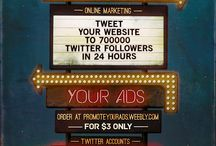 Marketing and Online Promotion / All websites and online products.