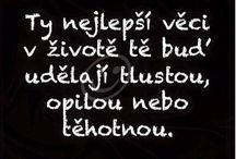 Texty v českom jazyku.