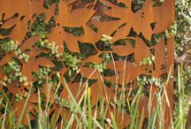 Corten Designs  / Corten steel cut out designs inspiration and ideas for planters