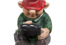 Miniature Garden Gnome Character