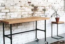 Pipes / Оригинальные идеи мебели, света и предметов интерьера из труб...