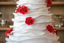 Maquetes Bolo / Modelos lindíssimos de maquetes para seu casamento. Acesse nosso site www.mariaameliadoces.com.br