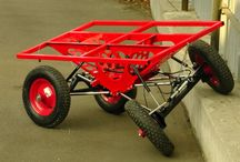 crawler cart / The main purpose of this project  was create cart that could provide transportation heavy goods in not very good road conditions. The second purpose was practice 4 link suspension design)