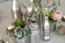 decorative glass bottle ornaments