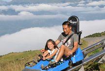 les activités des beaux jours / La station de ski d'Hyrule propose même des activités durant les beaux jours.