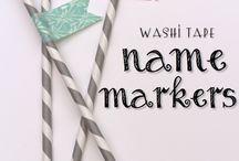 Washi Tape Wonders!