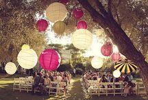 Hochzeit Deko Outdoor