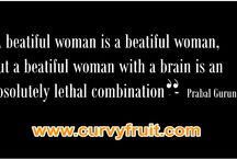 Curvyfruit Quotes / Real women have Curves!