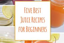 Five Best Juice Recipes for Beginners