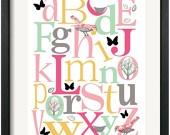 Decor - Alphabet Nursery / by Tiffany Williams