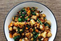 Main Dish Squash & Potatoes