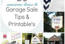 Garage Sale info