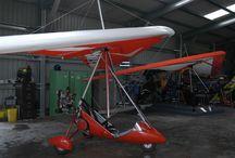 hang-glider motorfly.