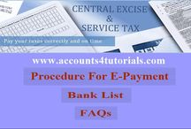 Excise Duty / Excise Duty Returns, Updates, E-Payments,