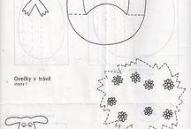 """Поделки из бумаги (""""гармошка"""")"""