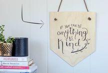 DIY Art / by Homemade Ginger | Tutorials, Home Decor, Crafts, Kids Crafts, Craft Tutorials, Saving Money!