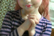 gruselig schminken Kinder