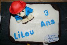 Gâteau Paddington / Anniversaire de Lilou 3 ans