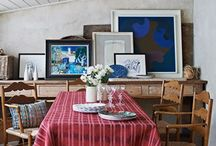 Framing & Hanging Art / Different Ideas on how to frame & hang art around the house. Grouping pieces together, creating space and making a statement.