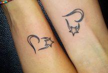 Τατουάζ με καρδιές
