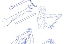 Referencias anatomicas, poses y demas.