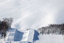 Hanazono Parks and FIS approved Pipe / Niseko Hanazono Resort boasts the largest terrain park area in Hokkaido with two separate areas, the jib park and the Hanazono Main Park which includes two lines for intermediate and advanced riders. Hokkaido's only FIS approved halfpipe and the bagjump complete the line up for freestyle riders.