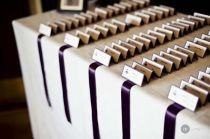 Wedding Escort Cards/Seating