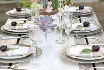 Table settings / by Debbie Petras