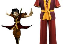 Zuko cosplay references