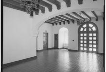 Interiors//spanish colonial