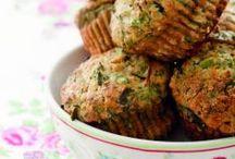 Ricette - Muffin (carne, verdure o formaggi) + ravioli + ripieni