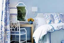 blue/white bedrooms / by Carol Chisenhall