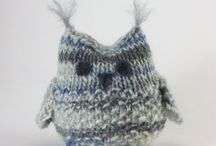 Knit: Appliques, critters and holiday / All the little things knitted!