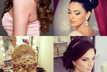 Stuff for my wedding - HAIR/MAKEUP / by Elia Madrid