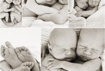 Newborn twin photo shoot ideas